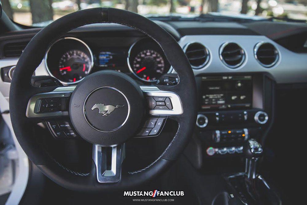 Mustang Parts: 2015+ GT350 Steering Wheel