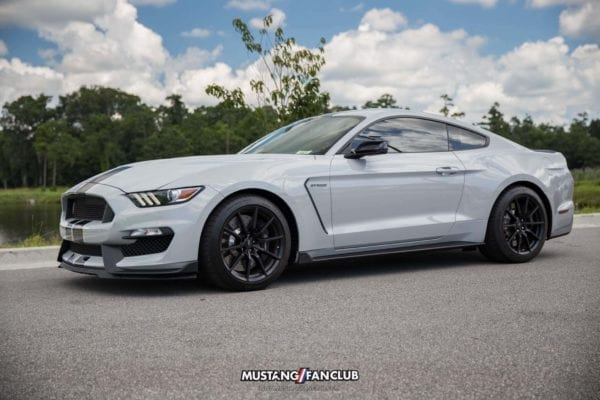 mustang week 2016 mw16 mustangfanclub mustang fan club meet and greet shelby gt350 avalanche gray