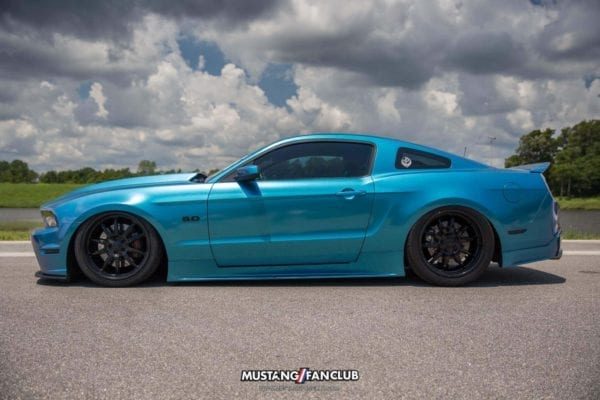 mustang week 2016 mw16 mustangfanclub mustang fan club meet and greet xxfallout kyle haut airlife trueforged wheels slammed lowered wrapped s197