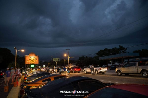 mustang fan club mustangfanclub instagram meet beaver bar mw16 week myrtle beach south carolina