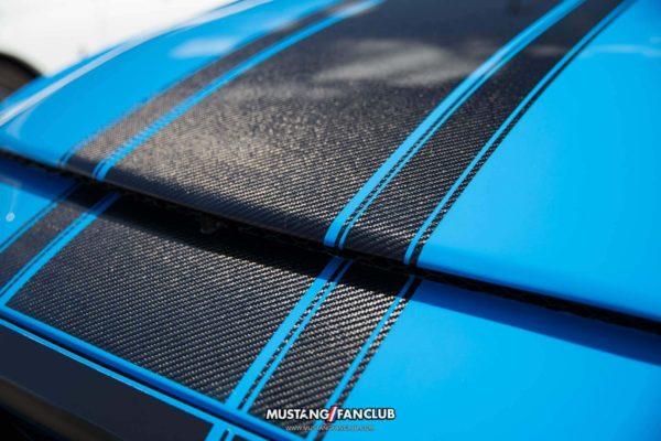mustang week 2016 mw16 mustangfanclub mustang fan club meet and greet carbon fiber hood grabber blue boss 302