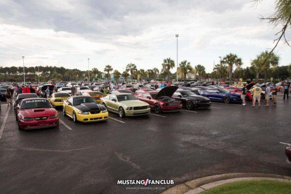 mustang week 16 2016 hard rock cafe car show meet mw16 mustangfanclub mustang fan club
