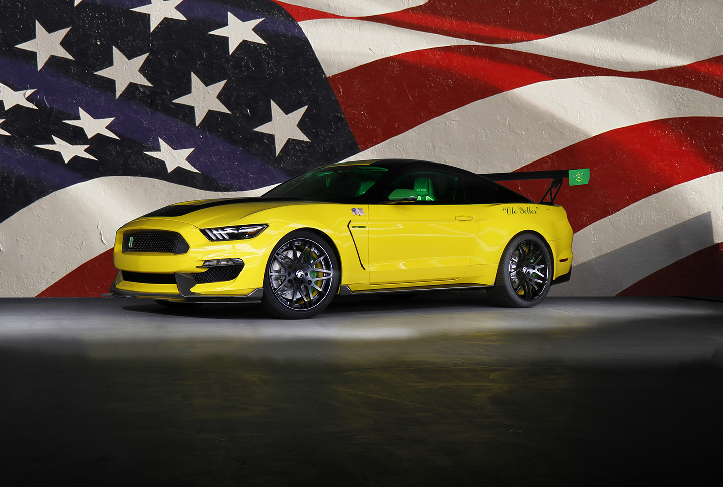 Ole Yeller GT350 Mustang Raises $295,000 for Charity
