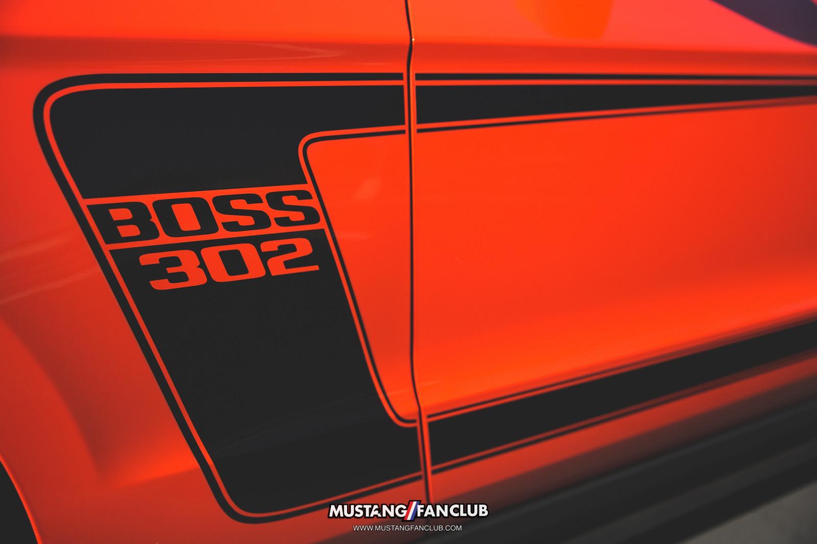 2012 12 competition orange boss 302 compoh comp oh georgia regional mustang club ga stripe decal side