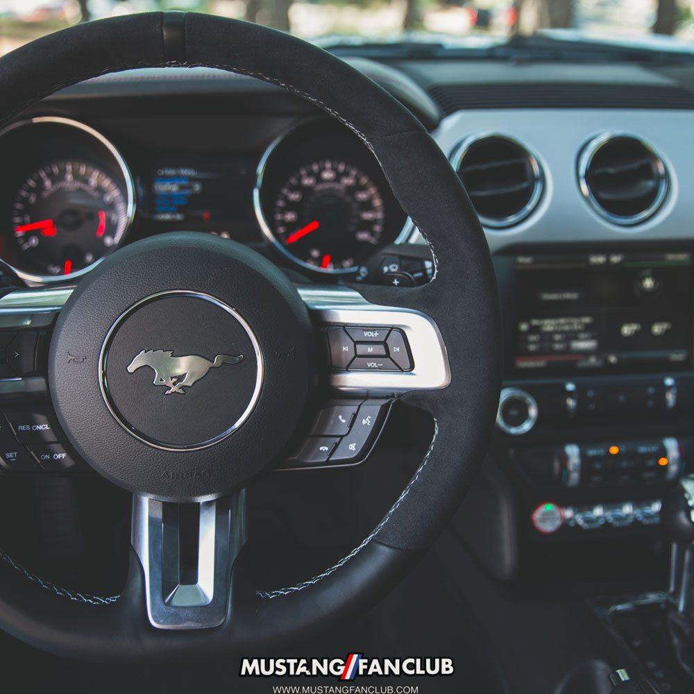 Shelby GT350 steering wheel alcantara automatic paddle shifter s550 mustang fan club mustangfanclub