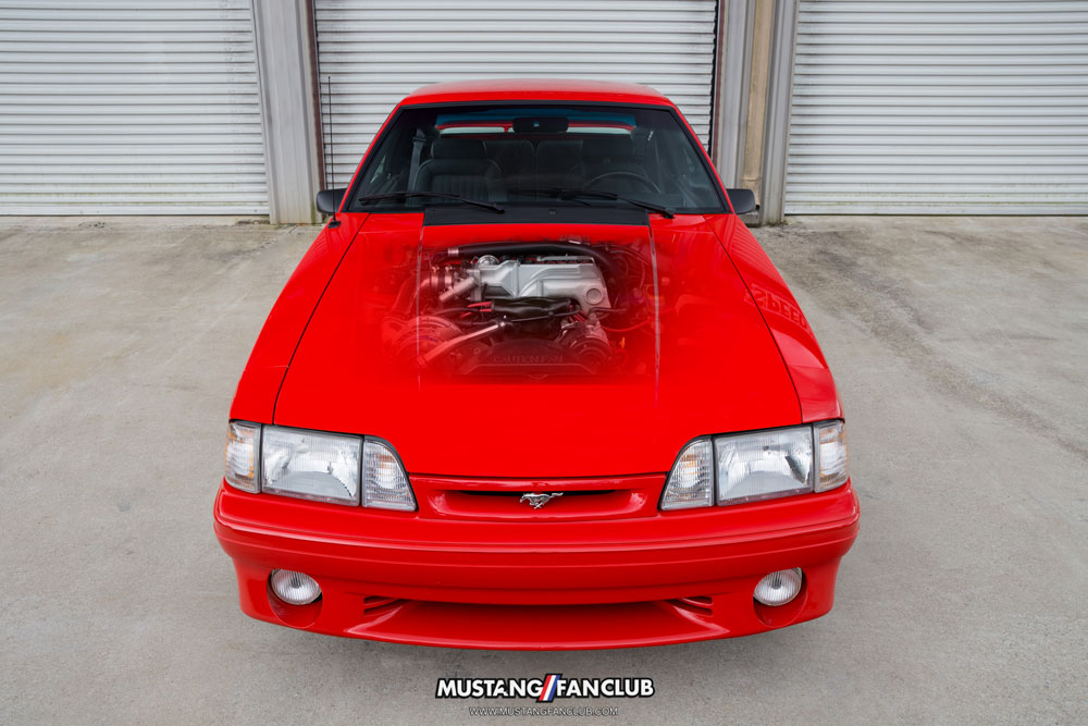 Paxton Supercharged 1993 Cobra Foxbody