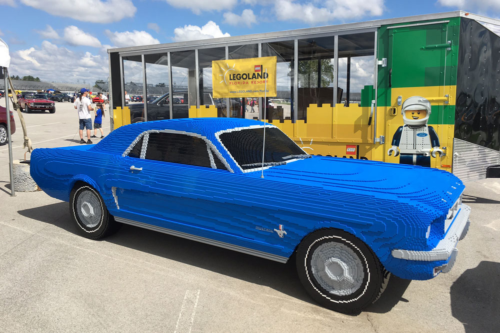 Legoland debuts life-size 1964½ Mustang replica