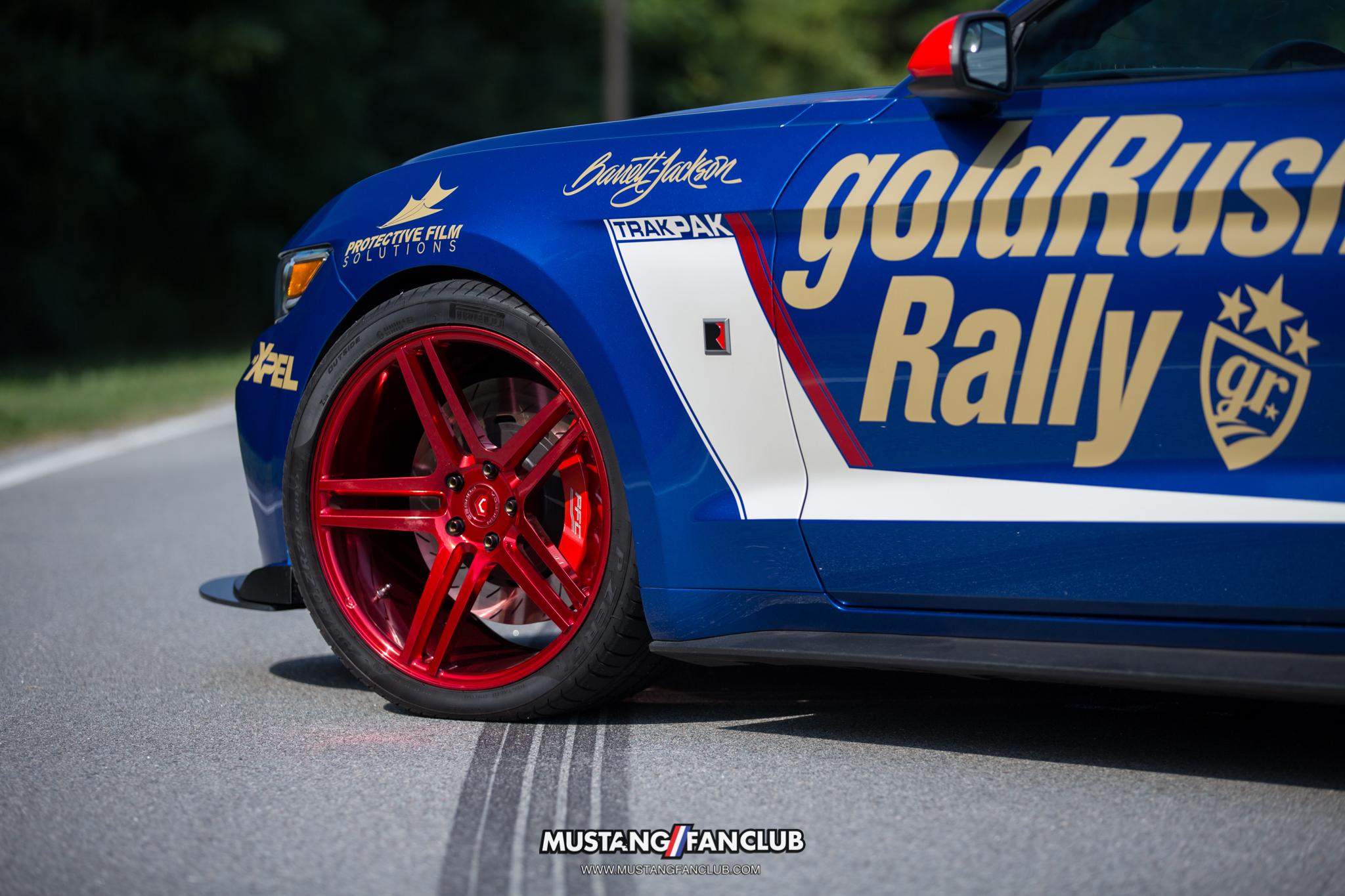 ROUSH performance trakpak vossen wheels #teamvossen mustang fan club mustangfanclub