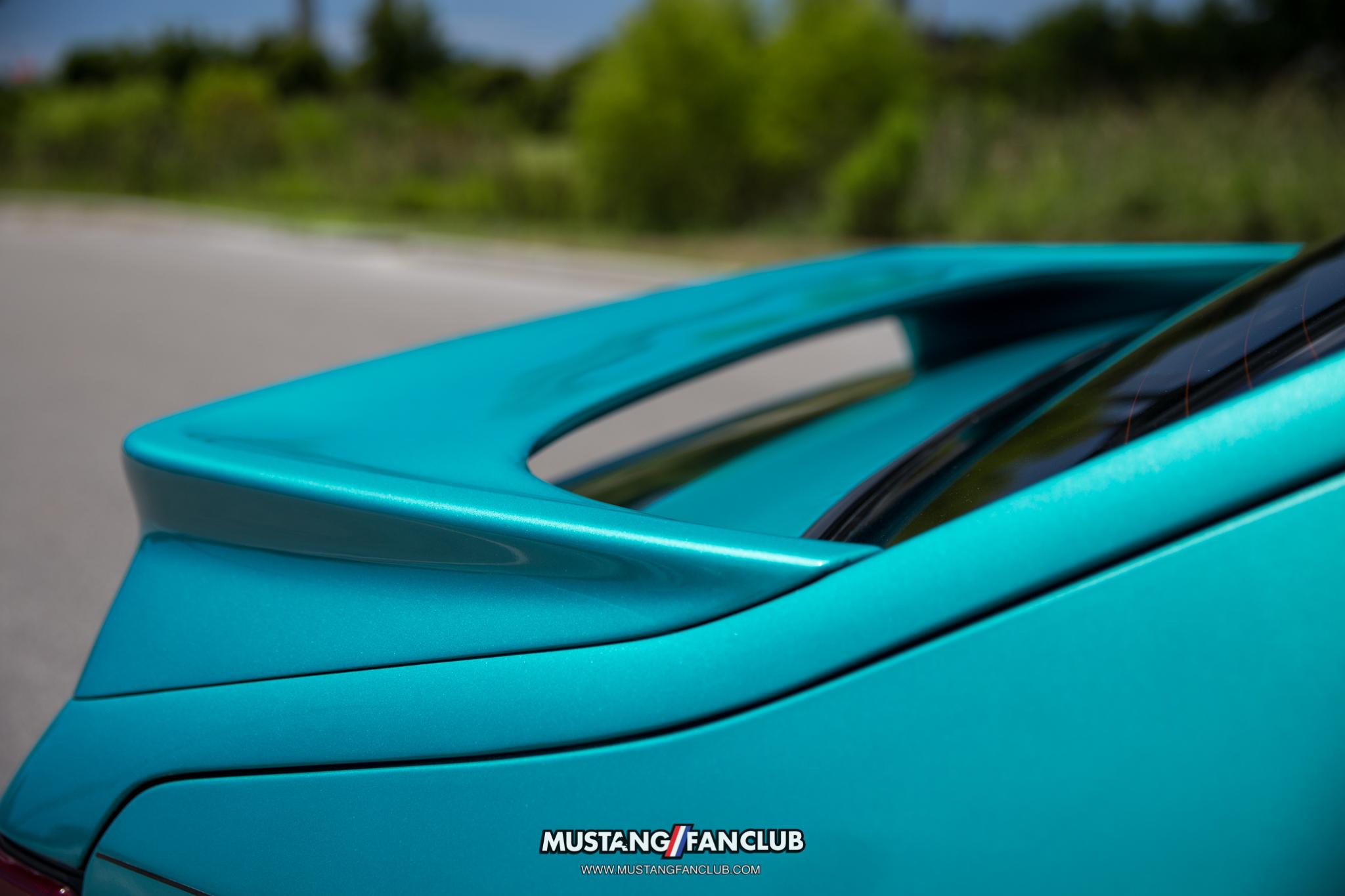 calypso green foxbody hatchback lx harris lue luecreative mustangfanclub mustang fan club 5.0resto latemodelrestoration latemodelresto mustang week turbo 2.3T 2.3
