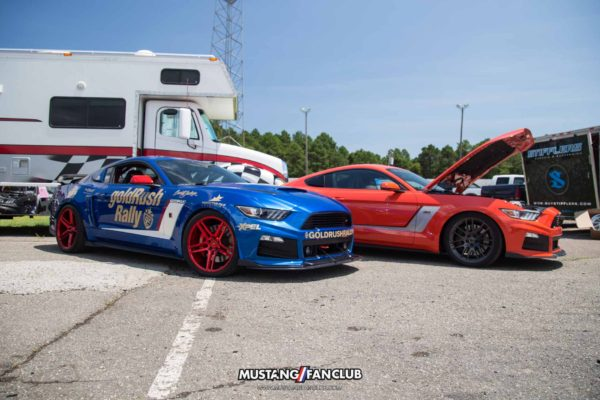 mustang week 2016 mw 16 mw16 myrtle beach speedway autocross track day car show roush performance trakpak rs3