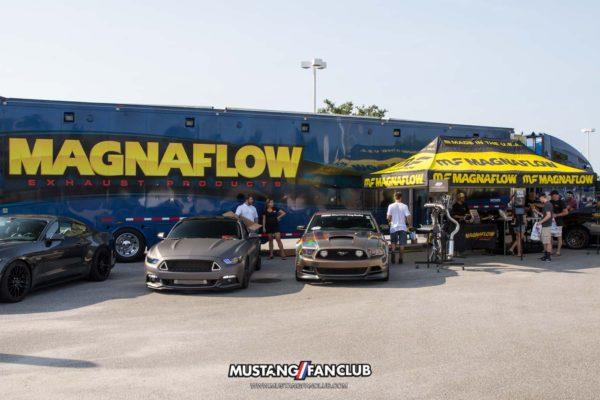 mustang week 2016 mw16 mustangfanclub mustang fan club car show myrtle beach mall magnaflow exhaust