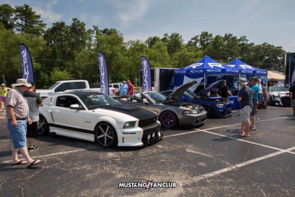 mustang week 2016 mw16 mustangfanclub mustang fan club car show myrtle beach mall rovos wheels