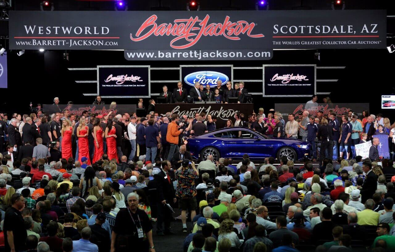 Mustangs break six records at Barrett-Jackson Auction