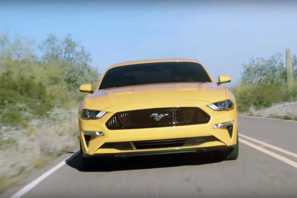 2018, Ford, Mustang, Revealed
