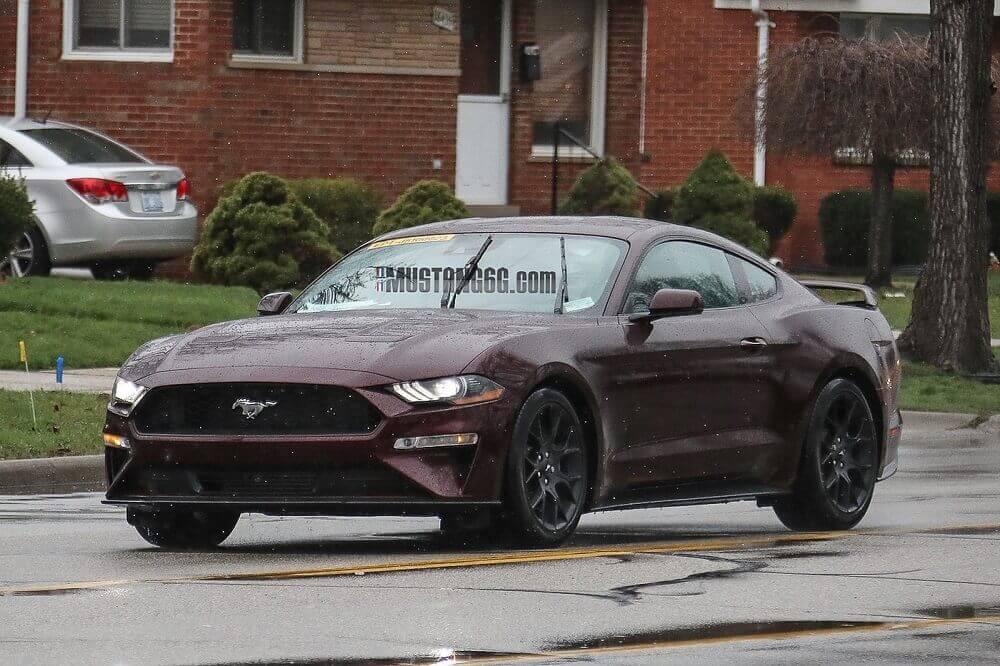 2018 Mustang Ecoboost Royal Crimson Mustang Fan Club