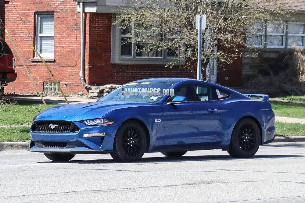lightning blue mustang ford fan club s550 refresh '18 18 2018 performance package pack v8 5.0