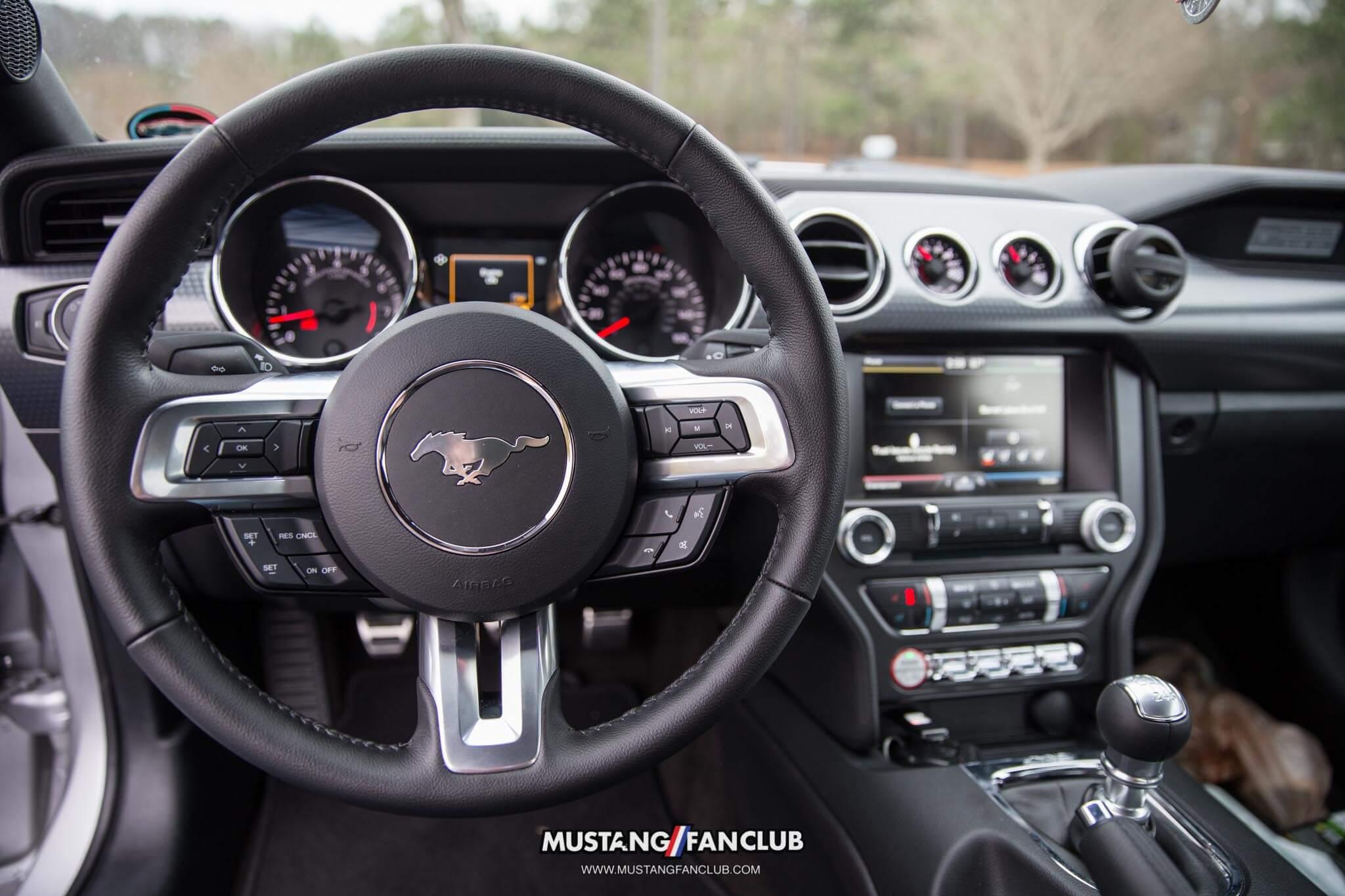Stock S550 Mustang Steering Wheel Mustang Fan Club