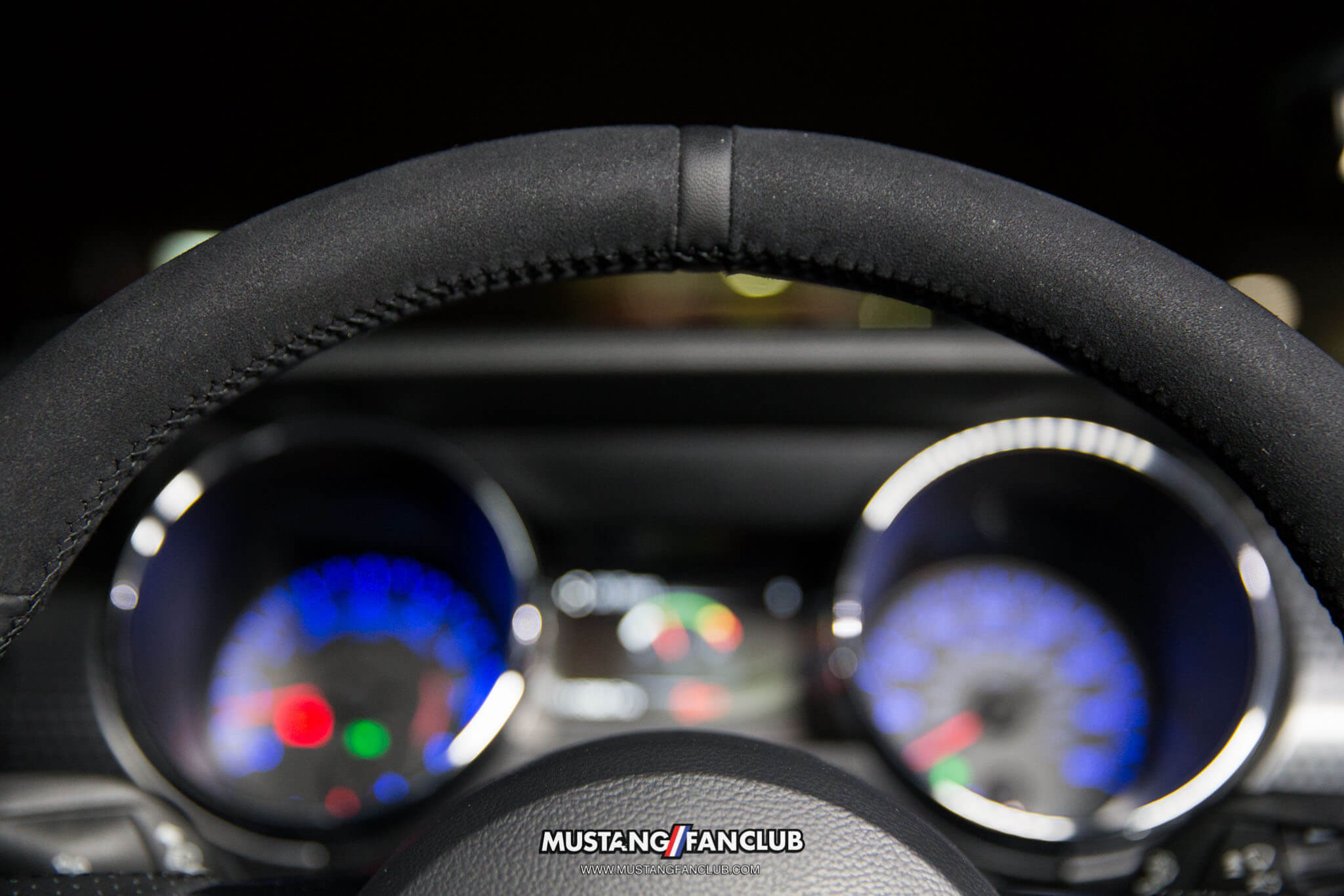 LMR LMR.com Latemodelrestoration latemodelresto steering wheel x550 s550 mustangfanclub mustang fan club suede alcantara leather