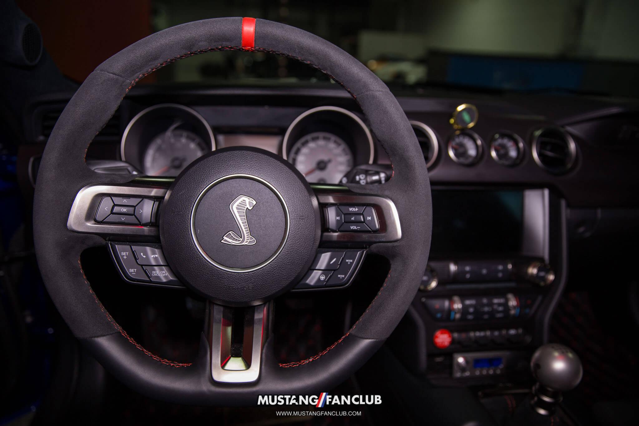 Shelby GT350R Steering Wheel Mustang Fan Club MustangFanClub