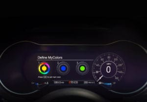 2018 mustang facelift gauges interior