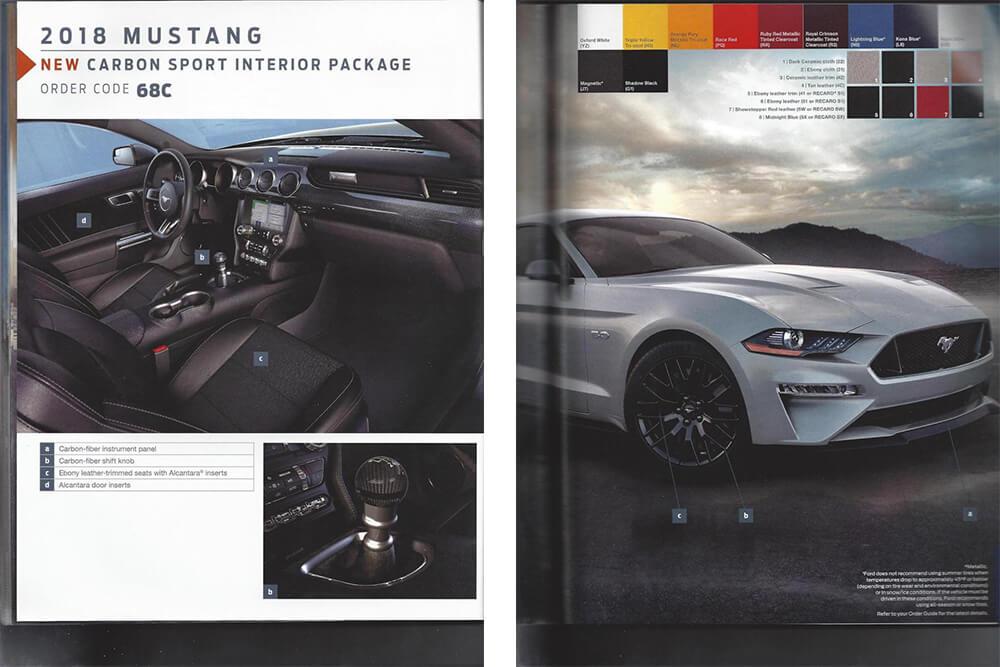 2018 Mustang Order Guide >> '18 Mustang Order Guide Companion! | Mustang Fan Club