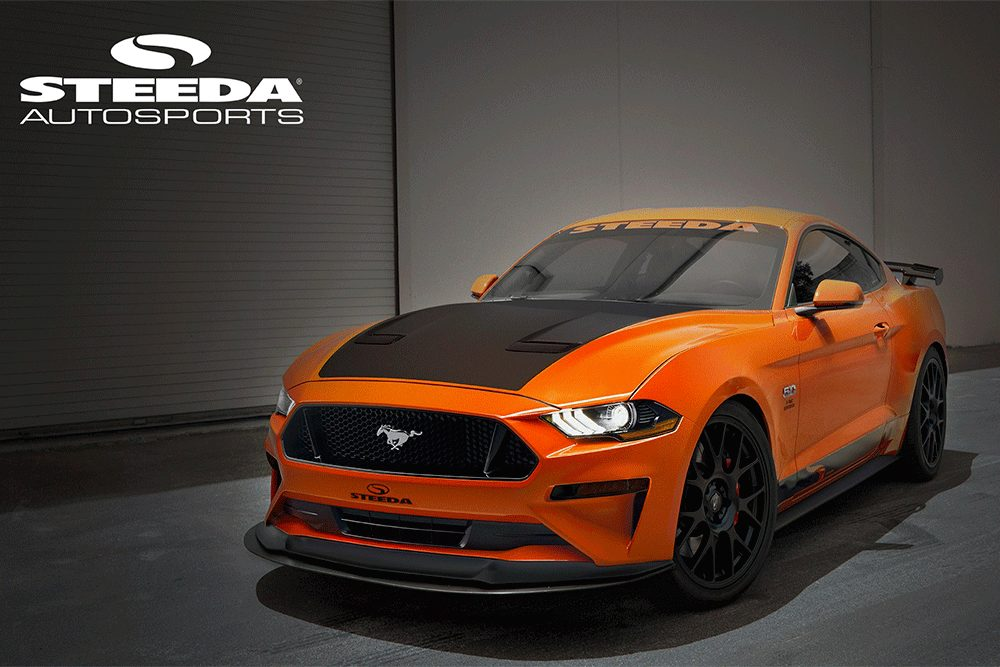2018 '18 18 mustang steeda sneak peek release unreleased orange fury mustangfanclub fan club s550