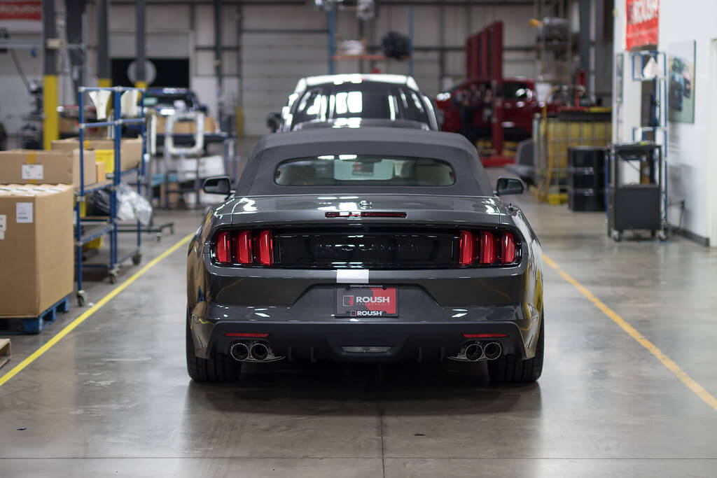 2017 ROUSH Stage 3 mustang assembly line