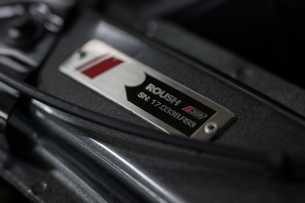 ROUSH Stage 3 serial number