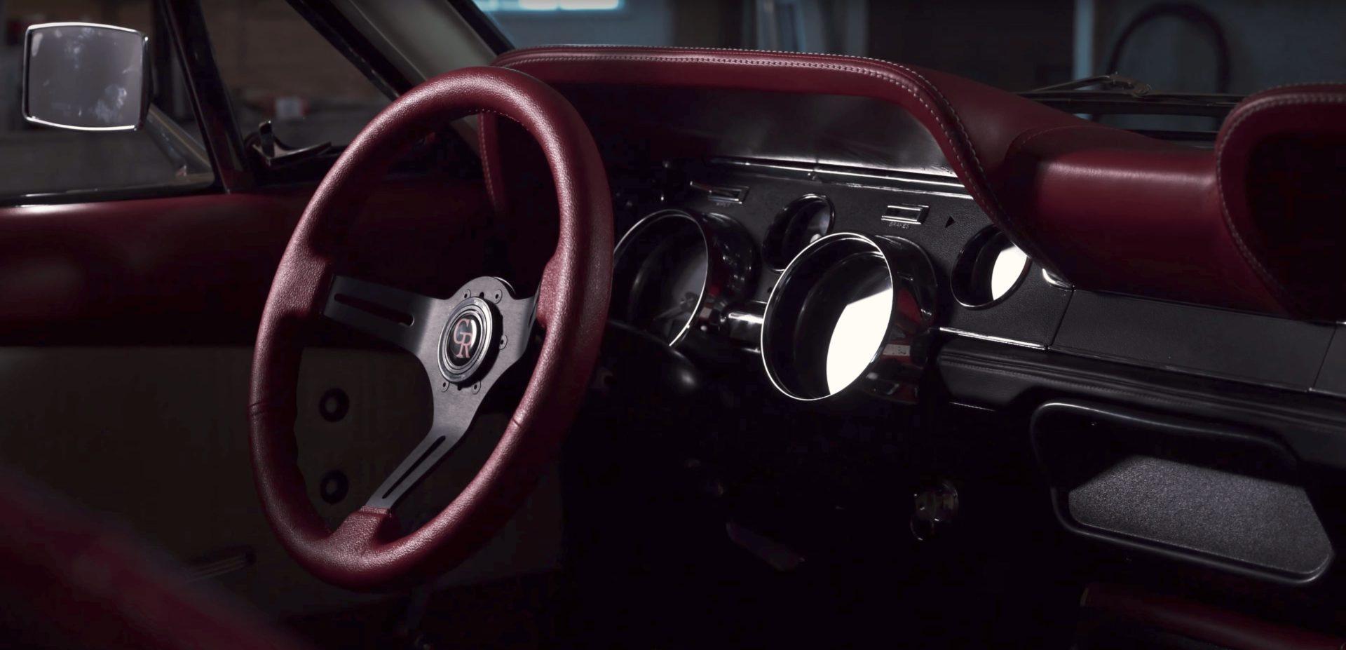 grip royal steering wheel mustang