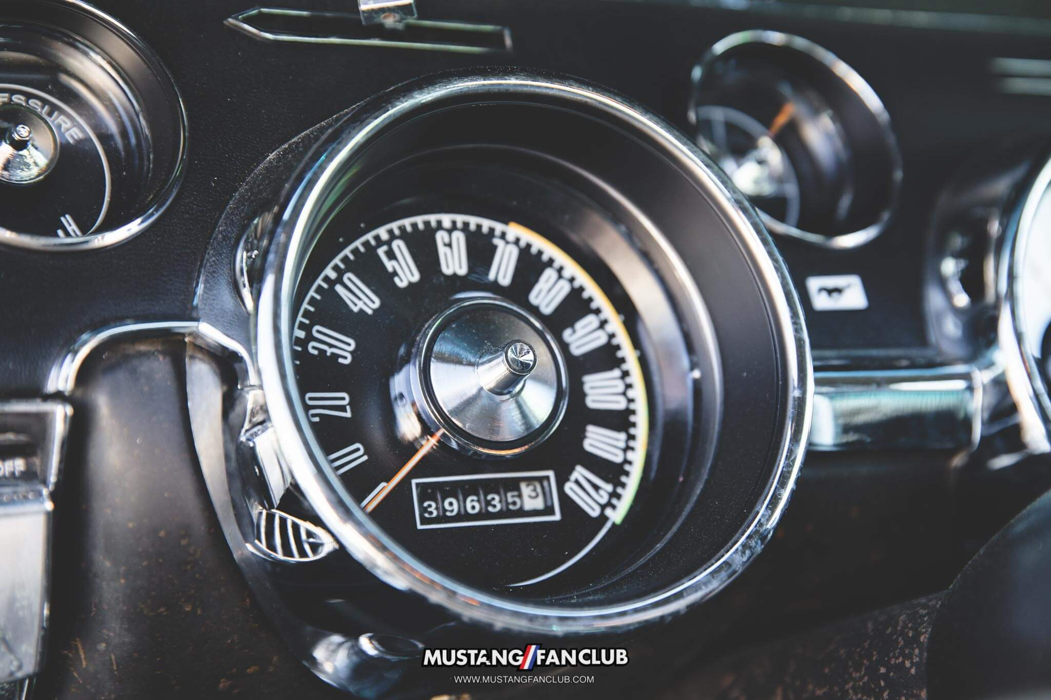 1968 68 mustang coupe speedometer