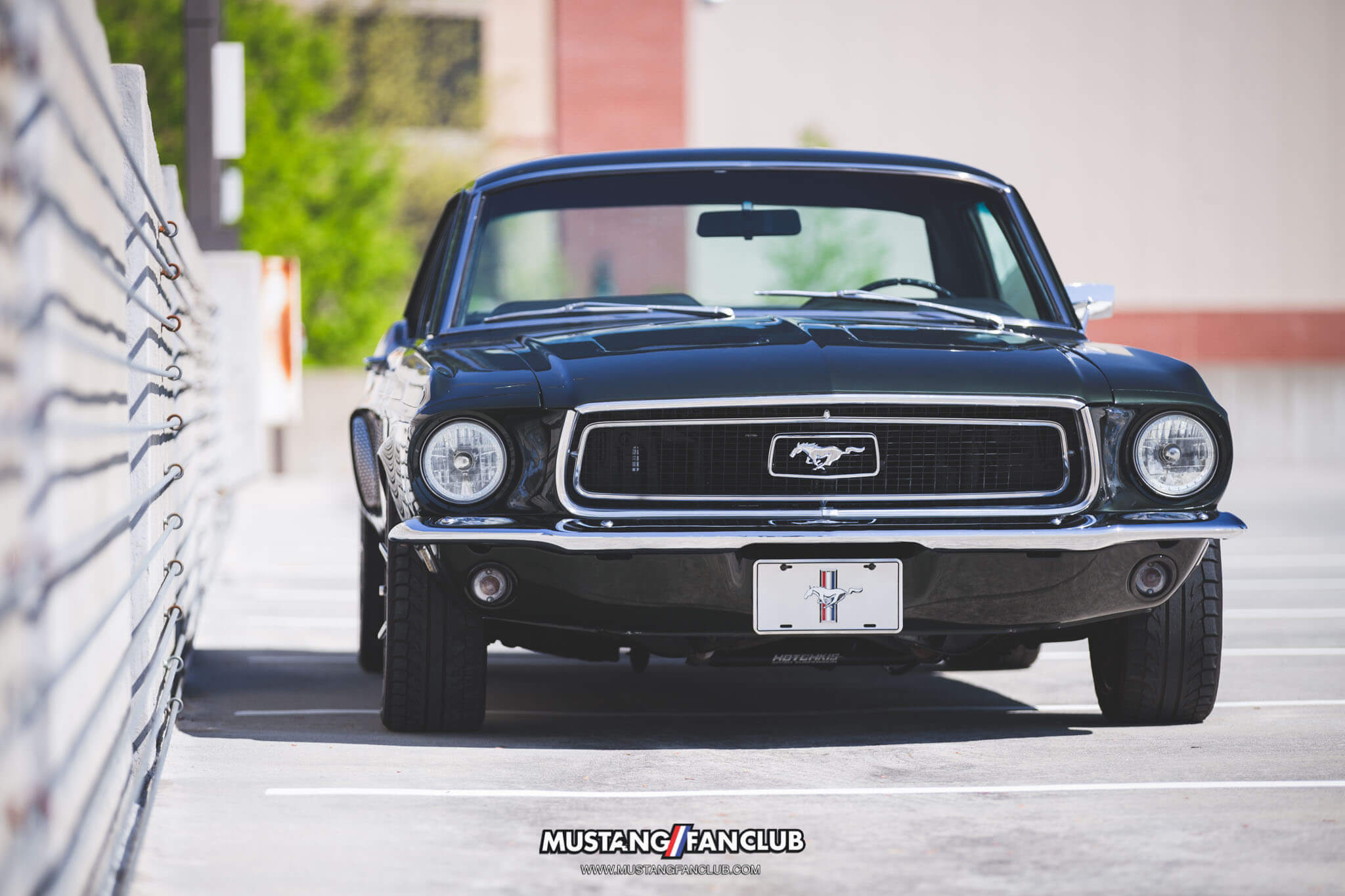 1968 68 mustang coupe