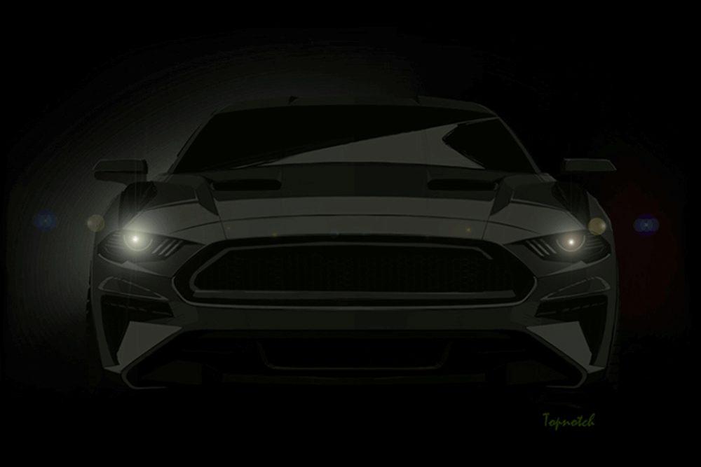 2018 Bullitt Mustang Render