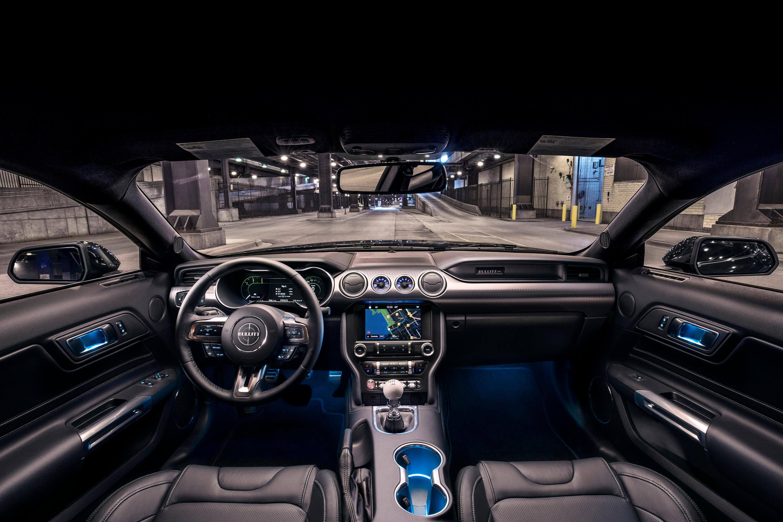 2019 Bullitt Mustang Interior