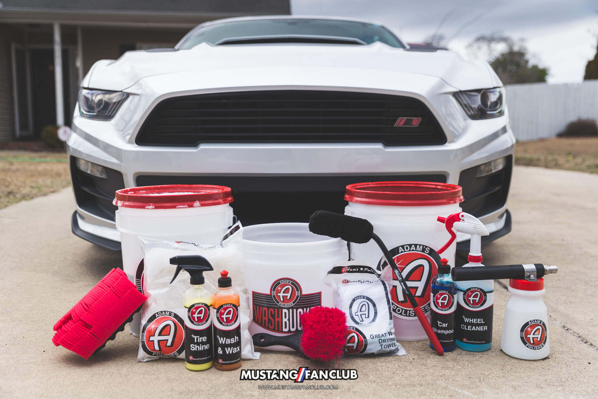 adam's polishes detail kit mustang