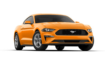 2019 mustang orange fury metallic