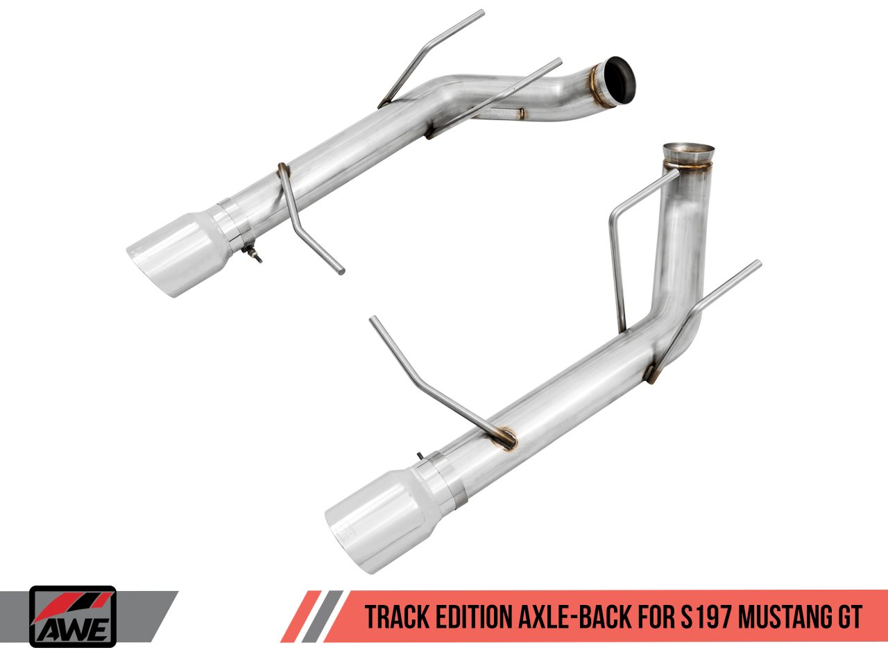 awe track axle back exhaust s197 mustang