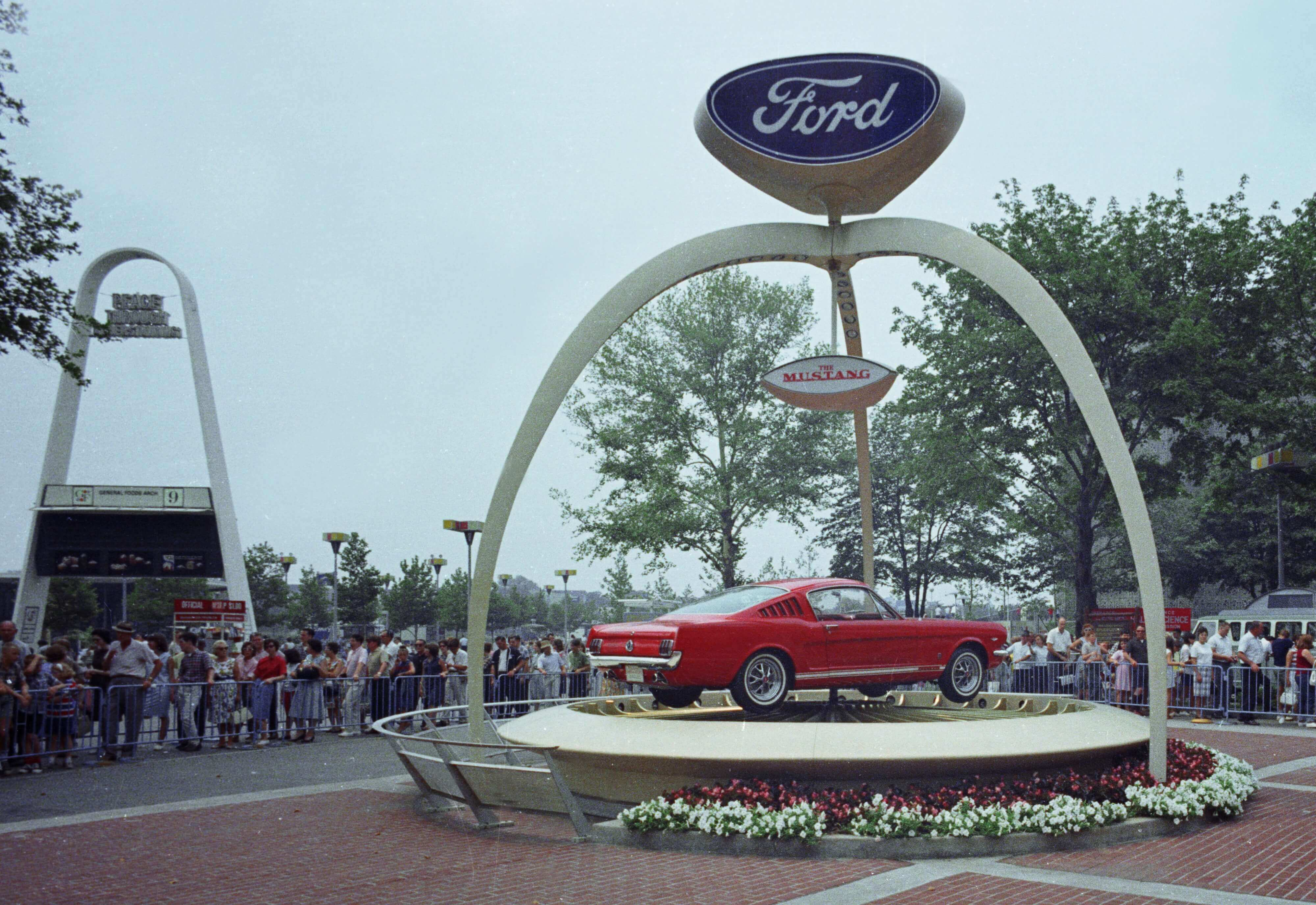 Ford mustang 1964 world's fair