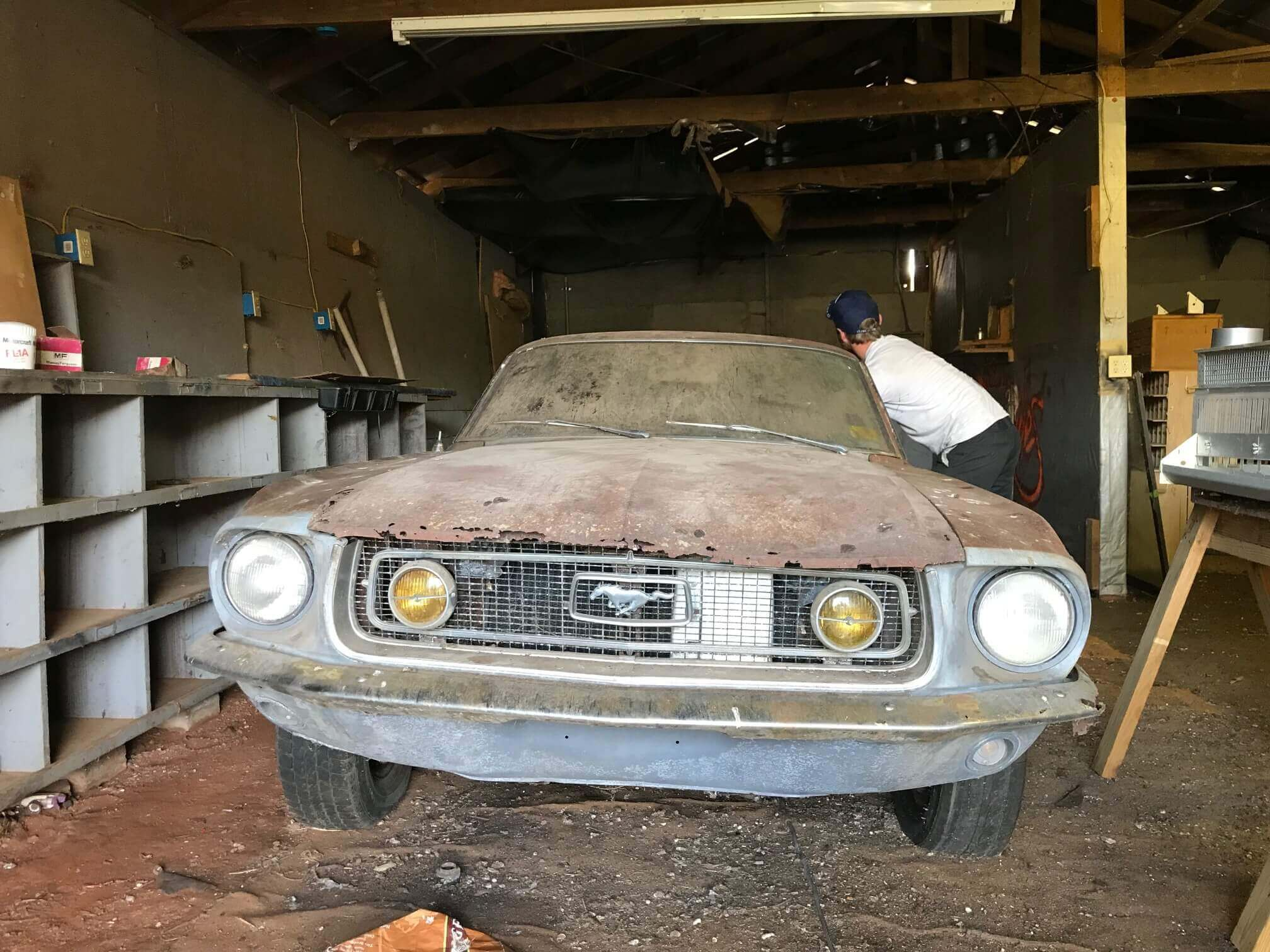 1968 S code Mustang GT