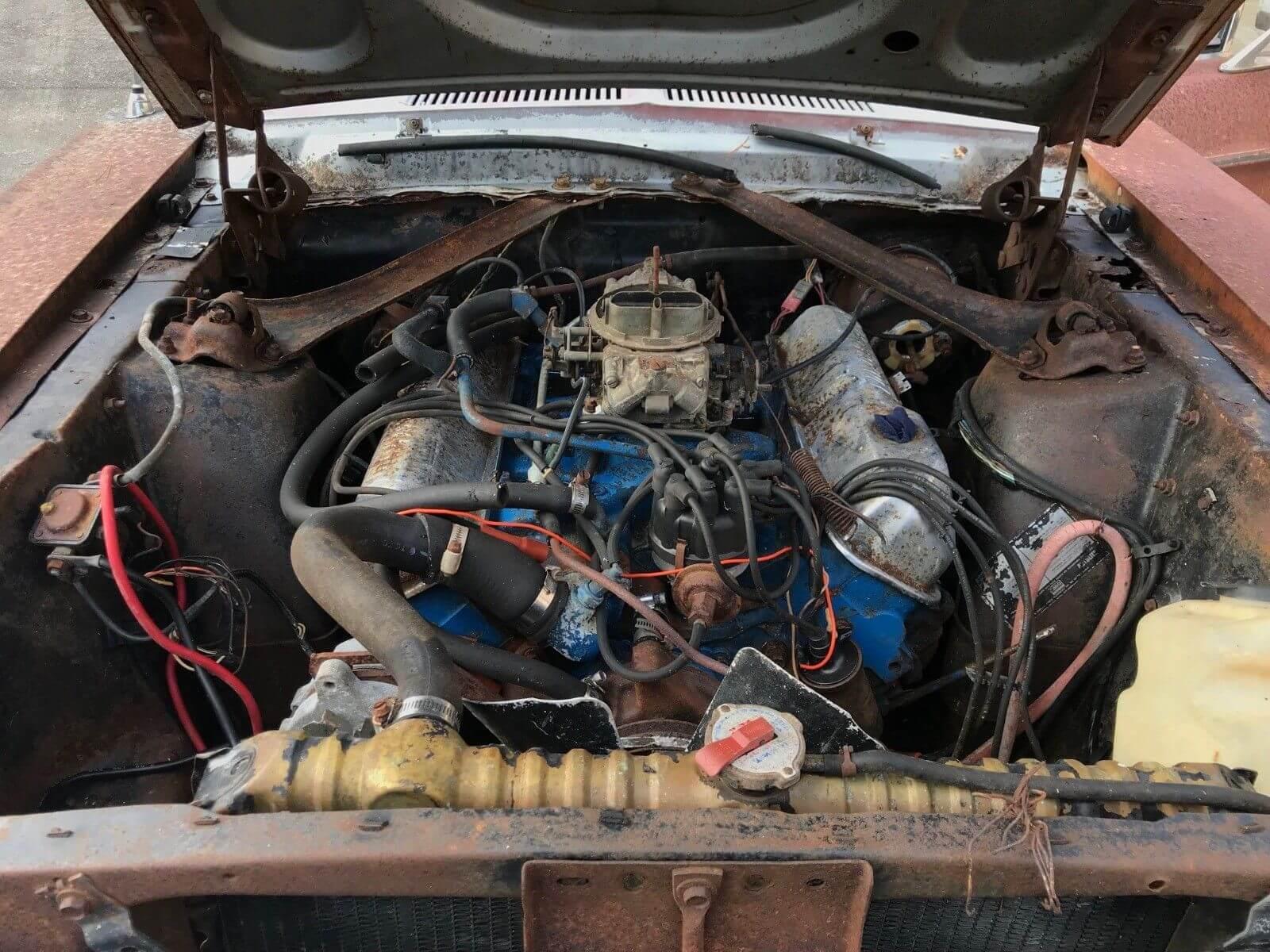 1968 S code Mustang GT 390