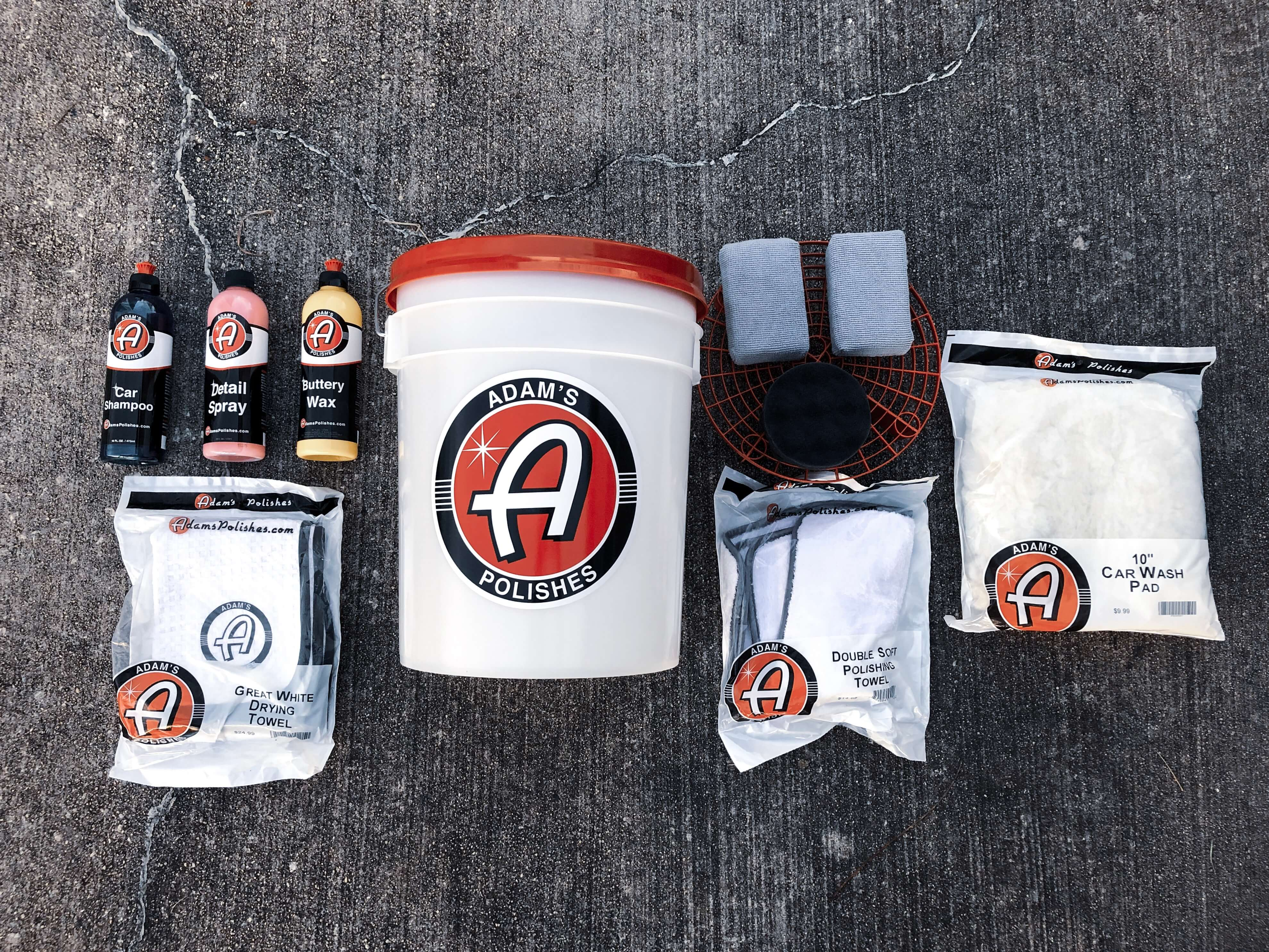 adams polishes car wash kit