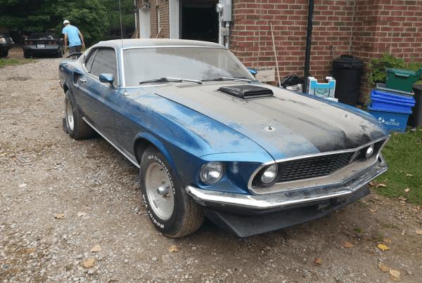 1969 Mustang Mach 1 428 Super Cobra Jet