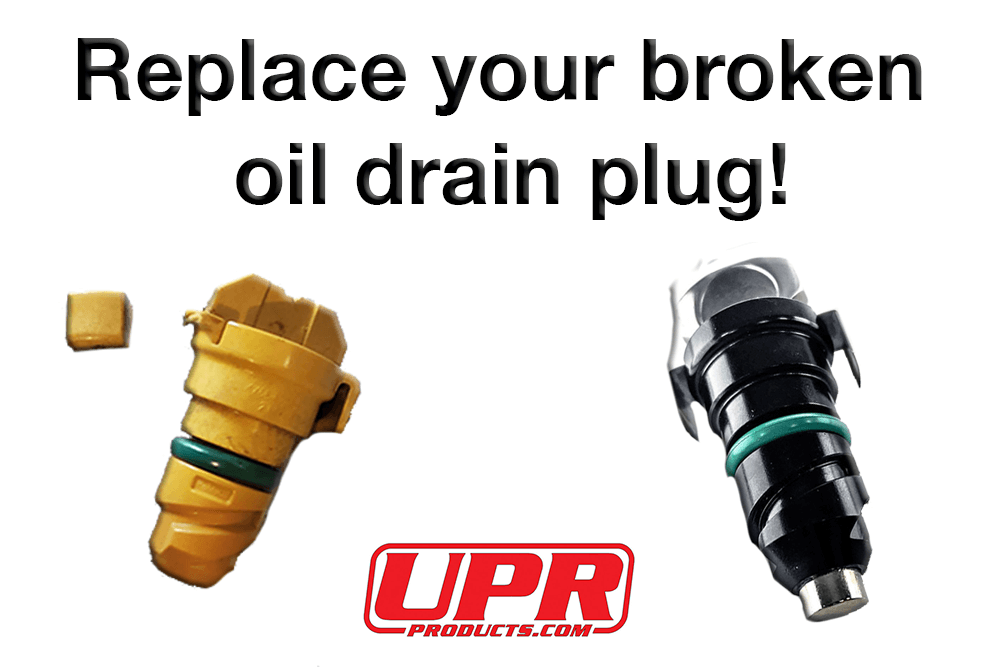 upr products mustang oil drain plug