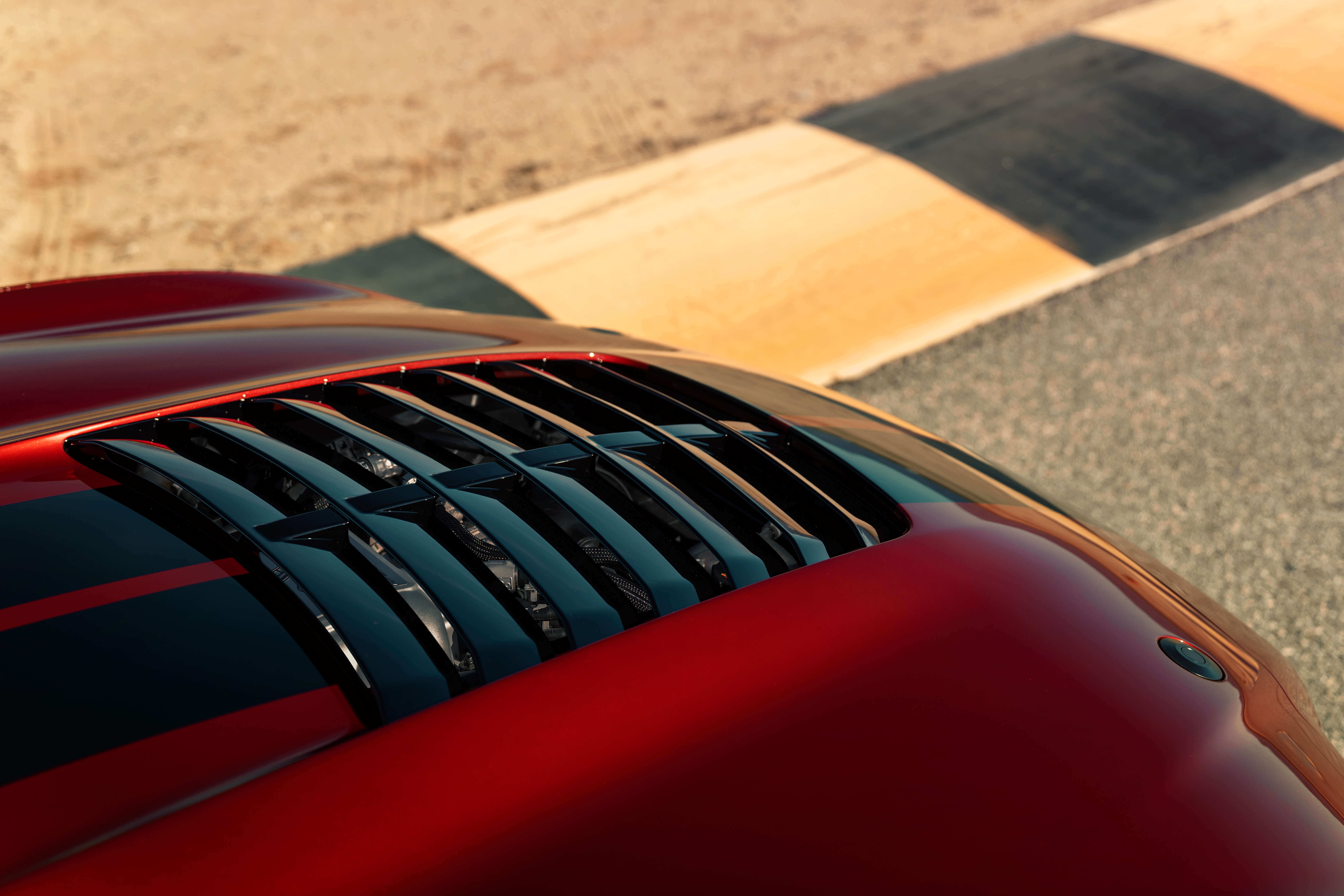 shelby gt500 hood vent
