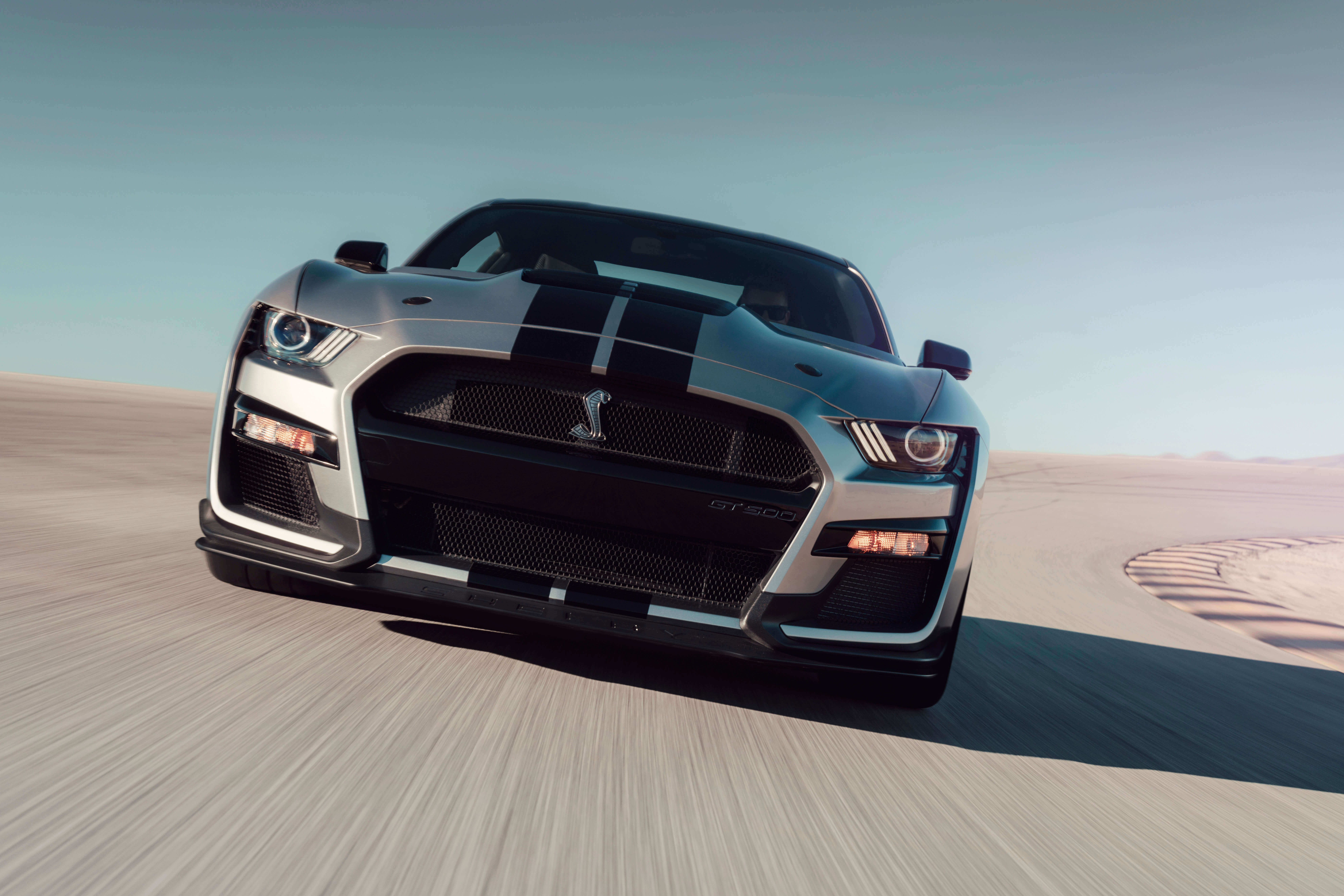 iconic silver shelby gt500