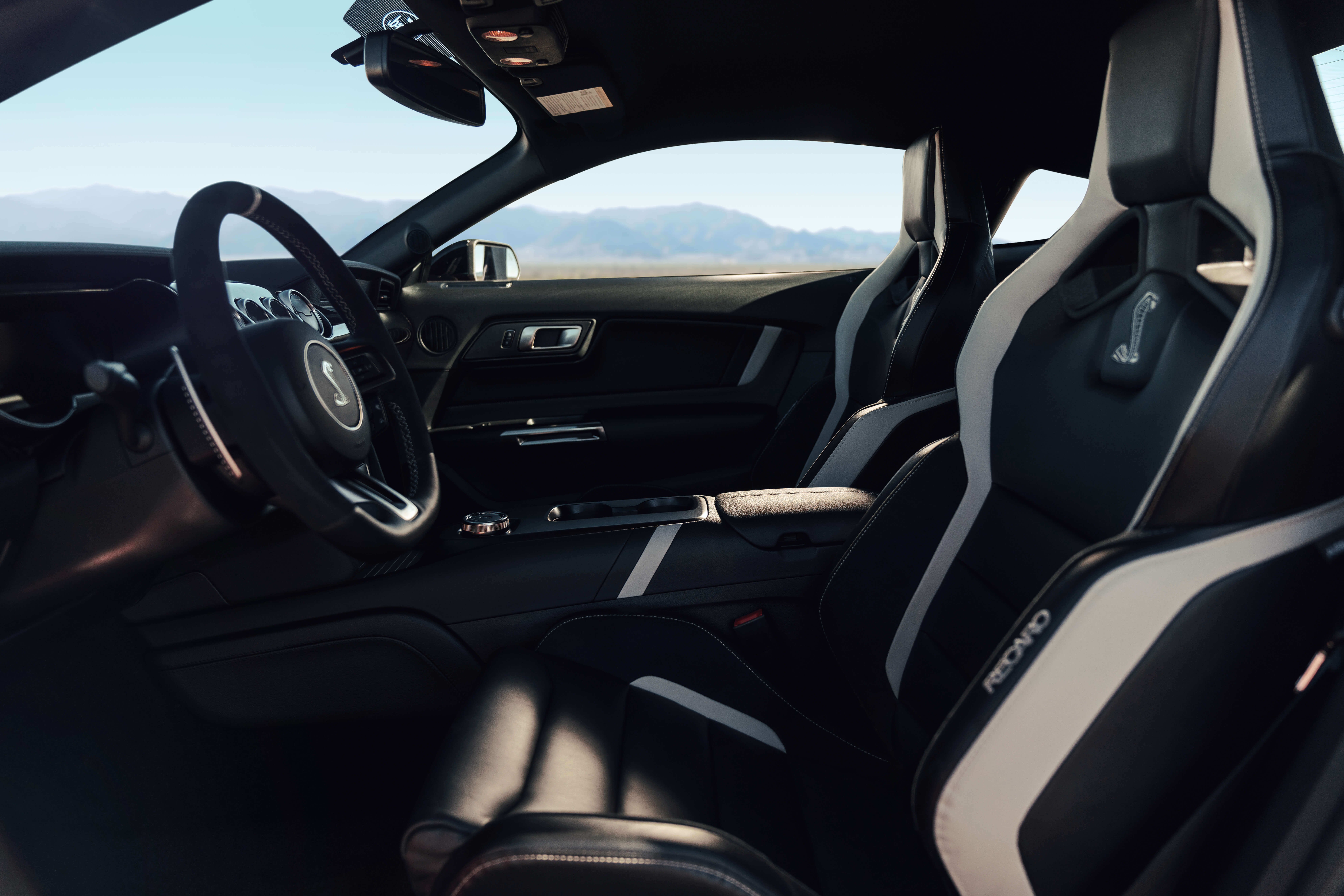 2020 shelby gt500 interior