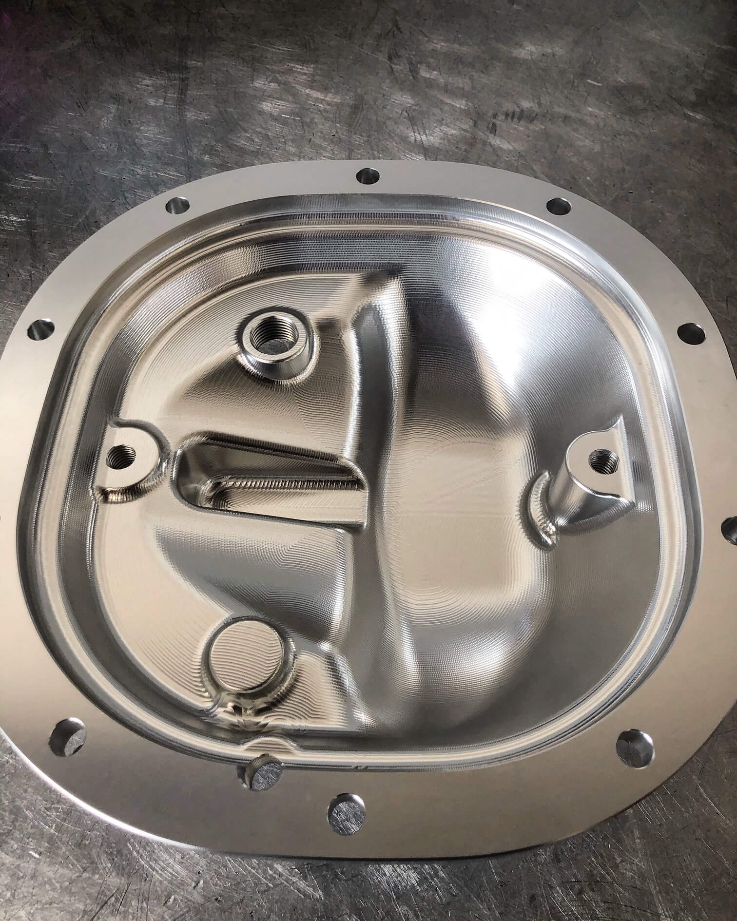 upr products billet differential cover