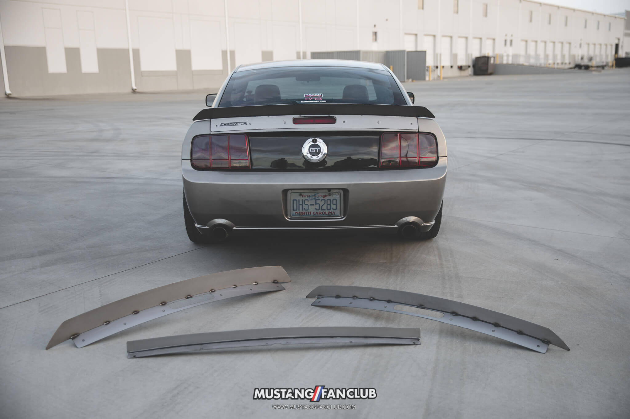 Cerbinator Auto Designs creates unique spoilers for your Mustang