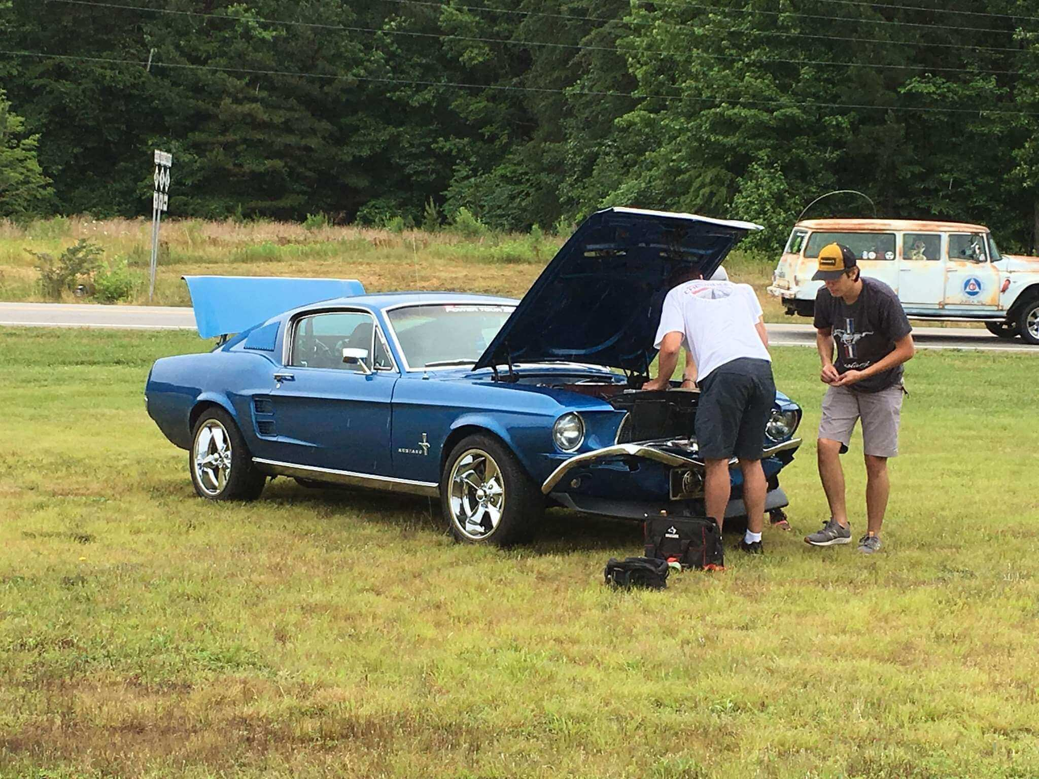 Hot Rod Power Tour '67 Mustang Fastback