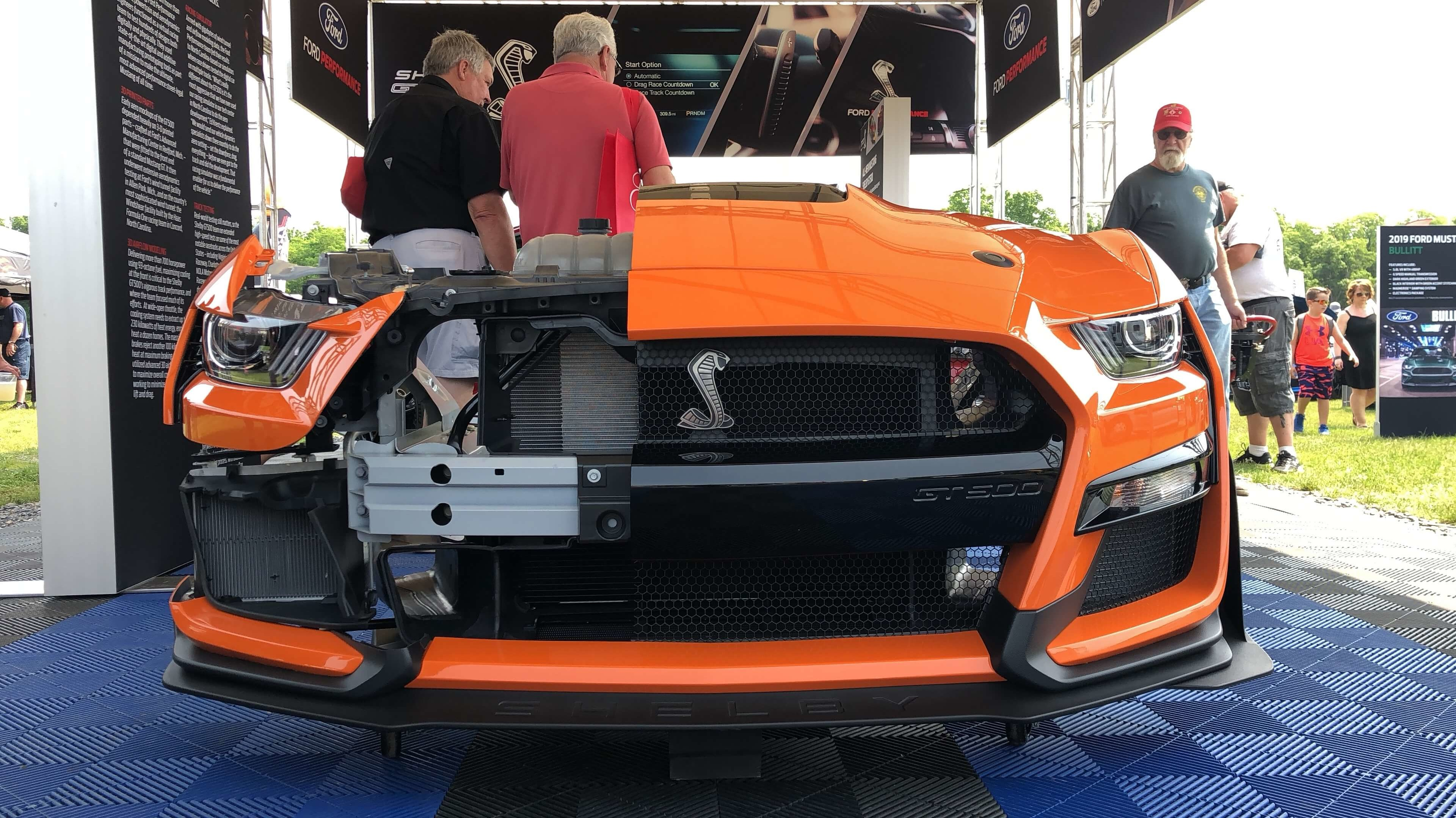 Carlisle Ford Nationals Shelby GT500 Cutaway