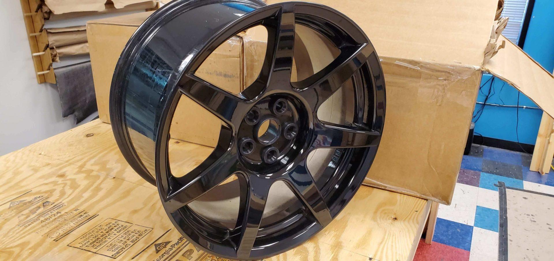 gt350r carbon fiber wheel
